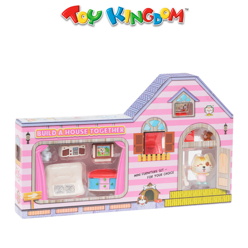 Mini Furniture Playset for Girls