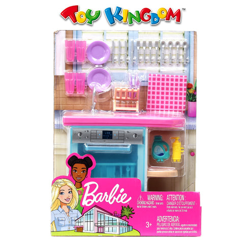 Barbie Kitchen Playset for Kids