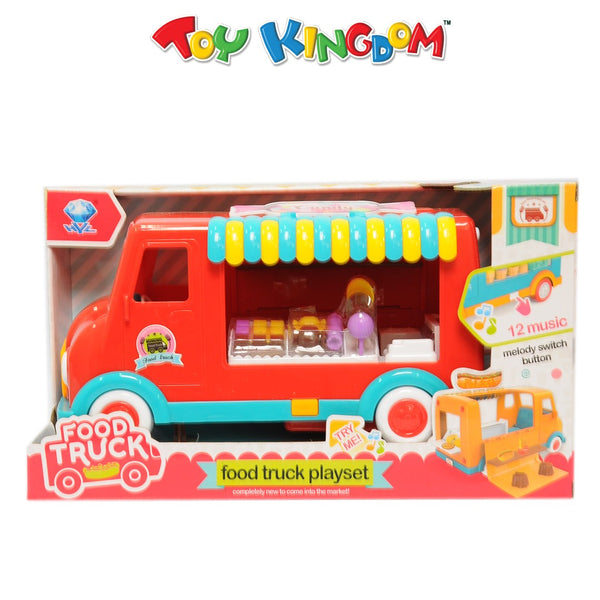 Candy Food Truck Playset for Kids