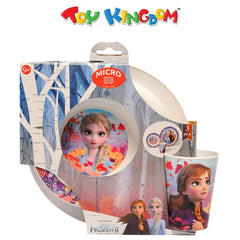 Disney Frozen 2 Microwave Safe Dinnerware Set for Girls