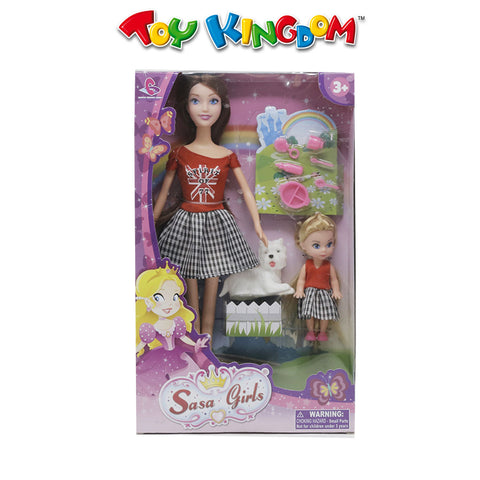 Sasa Girls Doll Playset with Accessories for Girls