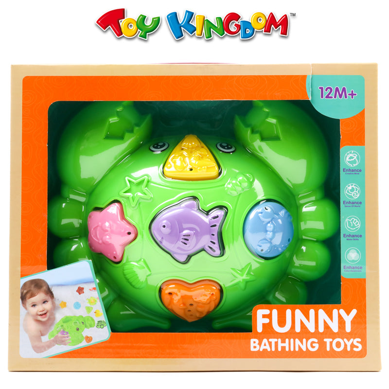 Funny Bathing Crab Toys for Kids