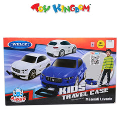 Maserati Levante White Pull Along Travel Case for Kids