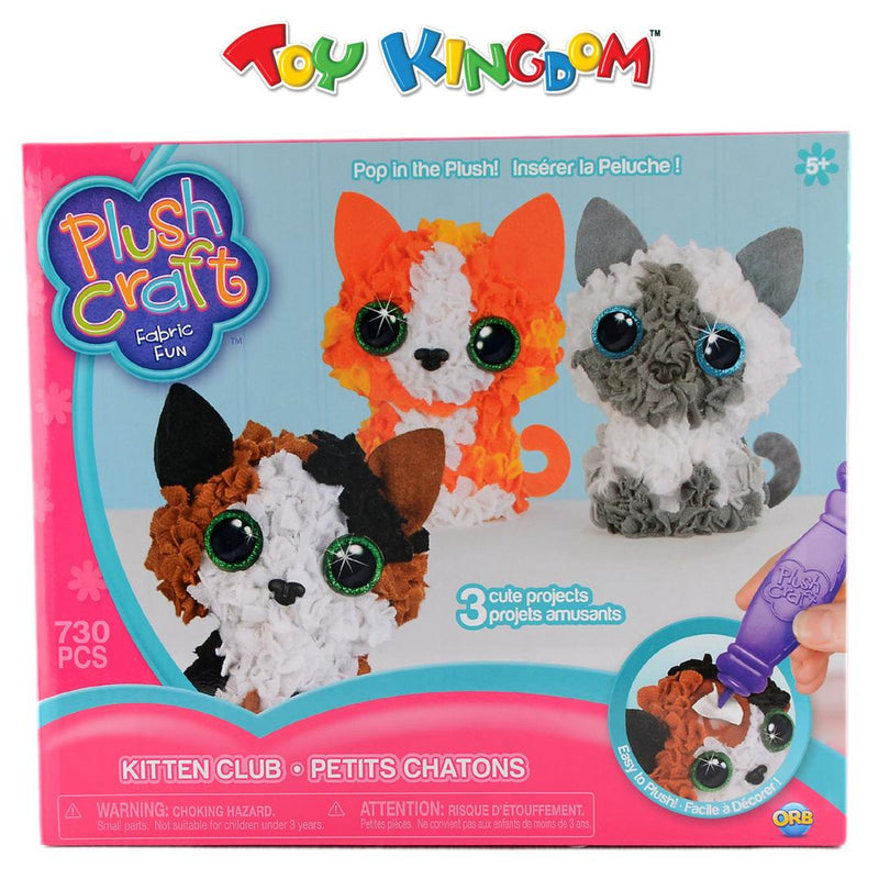 Orb Plush Craft Kitten Club