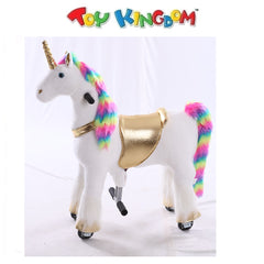 Unicorn Ride-On Toy for Kids