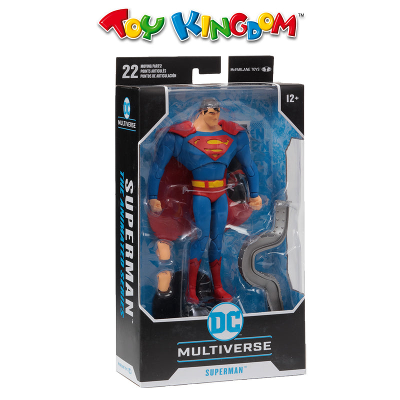 Mcfarlane DC Multiverse Superman The Animated Series
