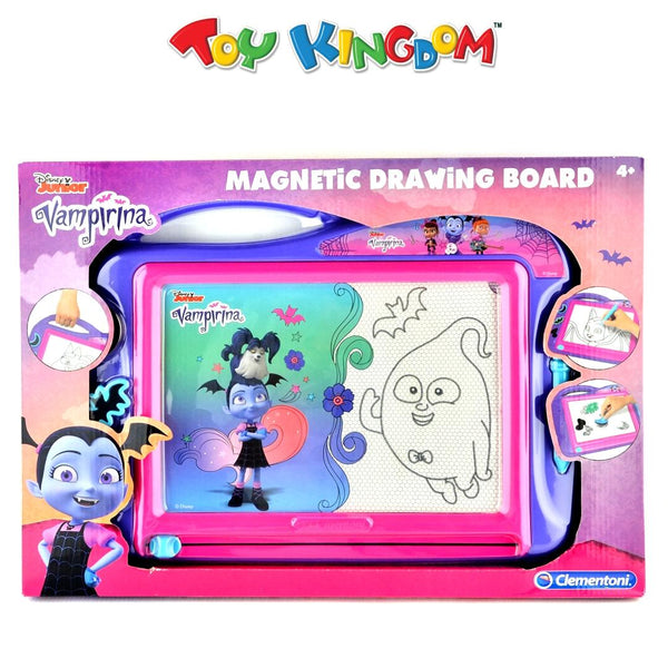 Disney Junior Vampirina Clementoni Magnetic Drawing Board for Girls