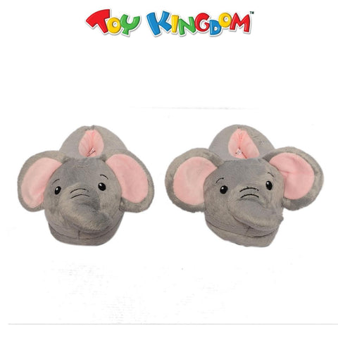 Elephant Plush Slippers for Kids