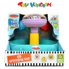 First Spinning Top Playset Early Learning Toy for Toddlers