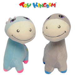 Blue and Gray Horse (Bundle) Plush Toy for Kids