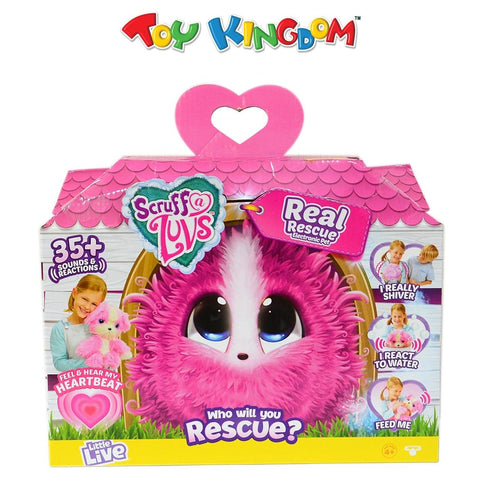 Scruff-a-Luvs Real Rescue Electronic Pet for Girls
