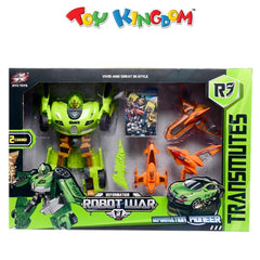Deformation Robot War Pioneer Transmutes Action Figure for Boys