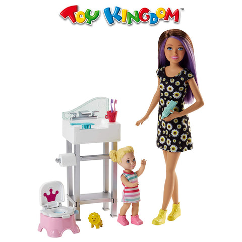 Barbie Skipper Babysitters Inc Doll Playset for Kids
