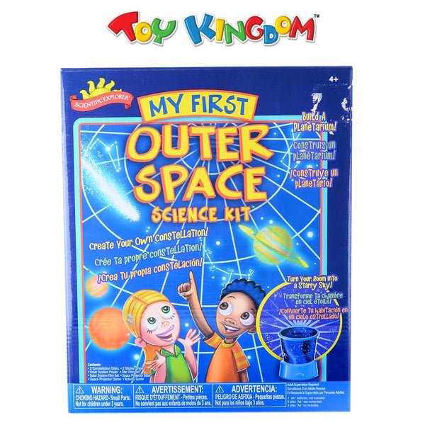 Scientific Explorer My First Outer Space Science Kit Experiment for Kids