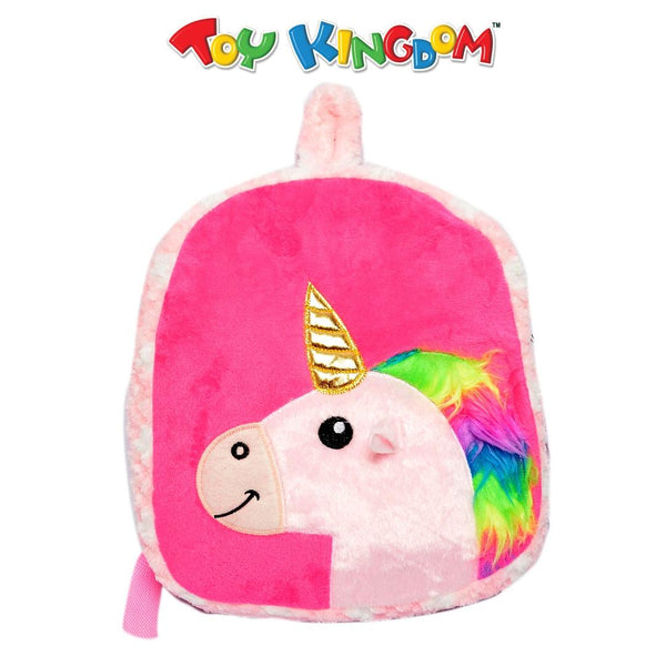 Unicorn Pink Trendy Backpack for Girls