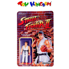 Super7 Street Fighter 2 Ryu 3.5-inch Action Figure for Boys