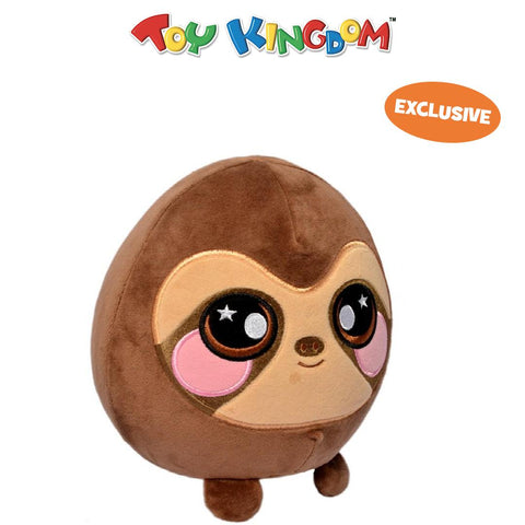 Squeezamals 8-inch Sam the Sloth Squishy Stuffed Toy for Kids