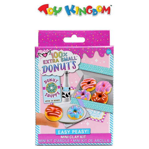 Fashion Angels 100% Extra Small Mini Clay Kit: Donuts for Kids