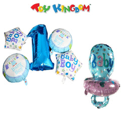 It's a Boy Balloons and Blue Baby Pacifier Balloon (Bundle) for Boy