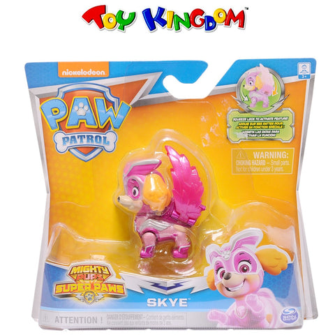 Nickelodeon Paw Patrol Mighty Pups Super Paws Skye Figure for Kids