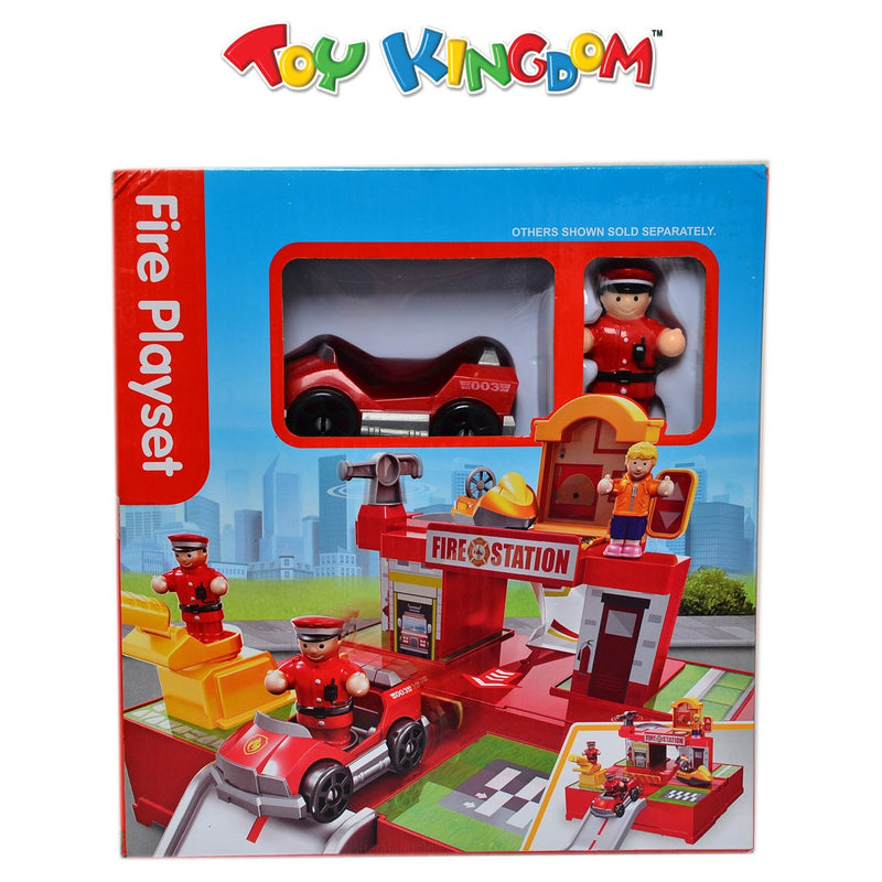 Fire Station Playset for Kids