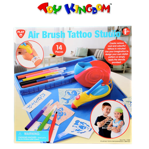 PlayGo Air Brush Tattoo Studio for Kids