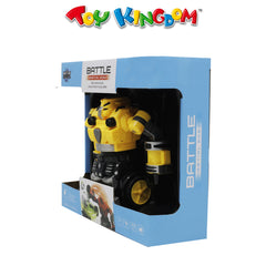 Battle Inertial Robot 1 pc with Sound Yellow for Kids