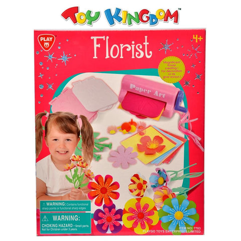 PlayGo Florist Flower Creation Kit