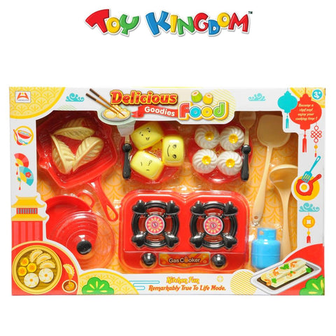 Delicious Goodies Food Kitchen Fun Set for Kids