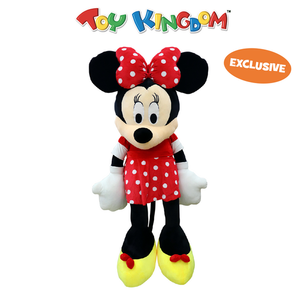 Disney Minnie Mouse Classic Giant Minnie Mouse Plush Toy for Girls
