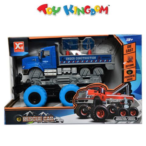 Rescue Car Off-Road Inertia Force Monster Truck for Boys