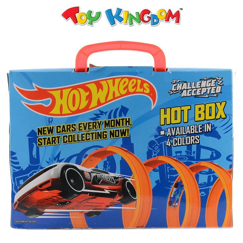 Hot Wheels Hot Box - Red