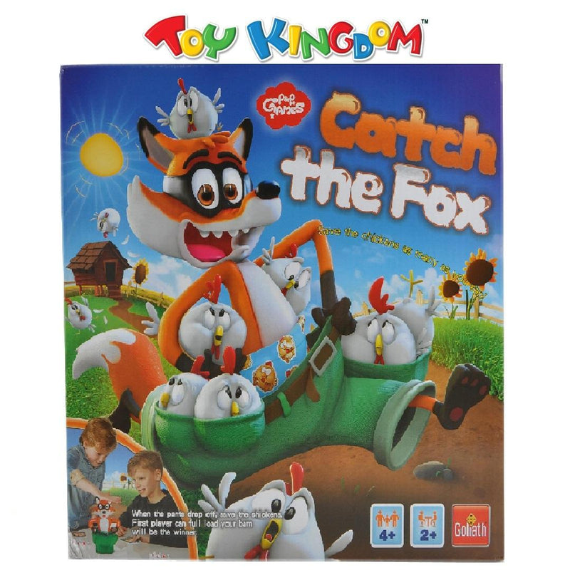 P&P Games Catch the Fox Games for Family