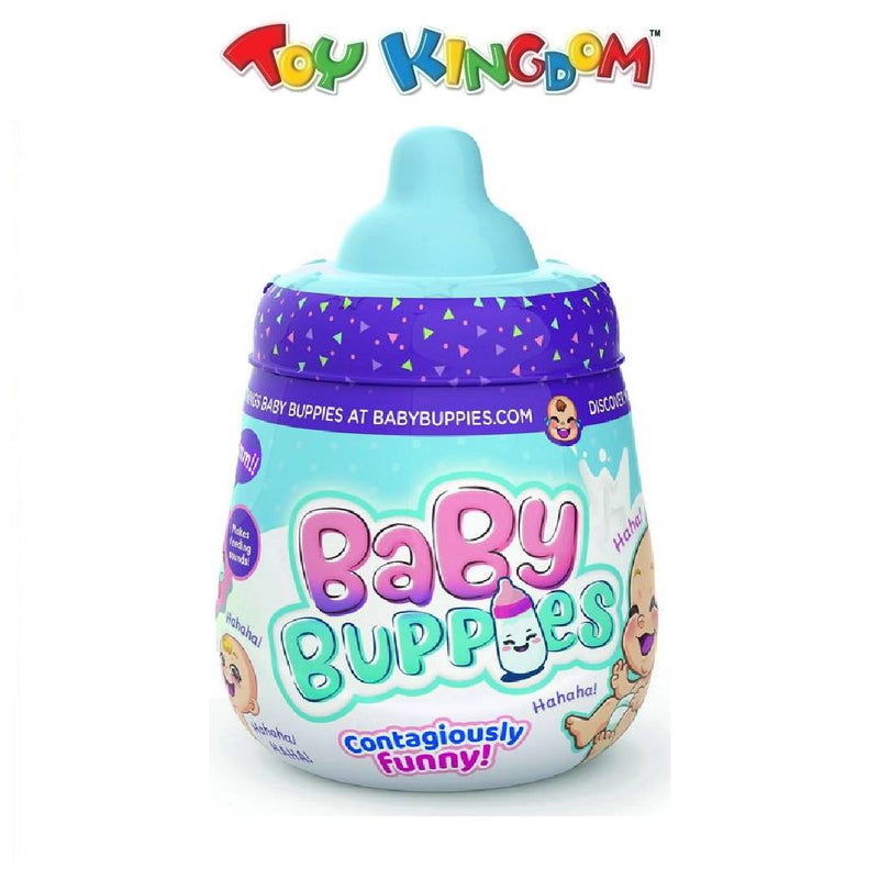 Baby Buppies - Surprise Laughing Baby (Blue) for Kids