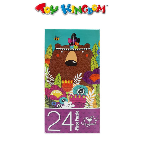 Cardinal Games 24-Piece Puzzle - Bear In The Bushes