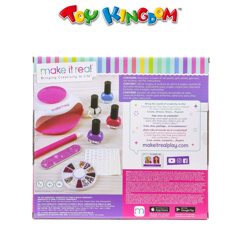 Make It Real Glitter Dream Nail Spa for Girls