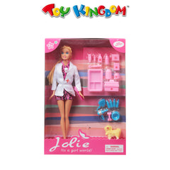Jolie Zoo Doctor Play Set for Girls