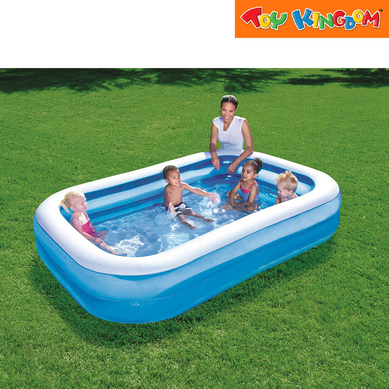 "Bestway Family Rectangular Inflatable Swimming Pool 8'7"" x 69"" x 20"""