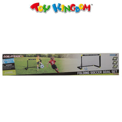 Folding Soccer Goal Set for Kids