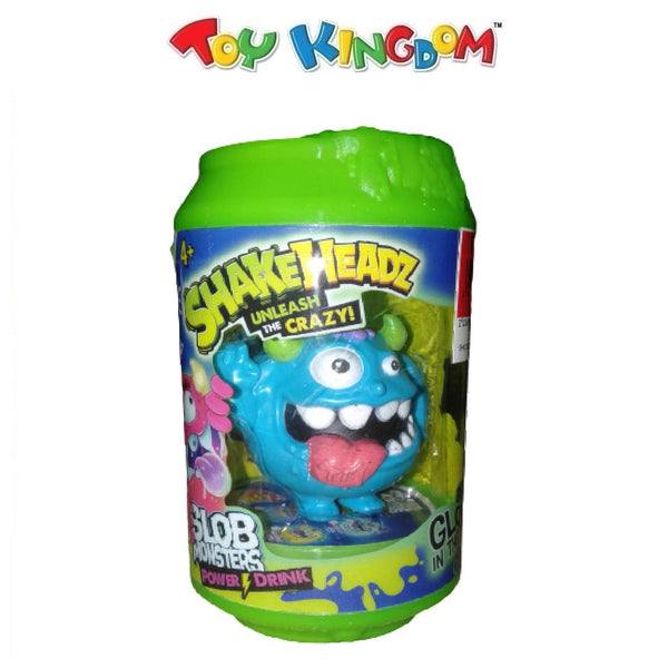 Shakeheadz Unleash the Crazy Slob Monster Power Drink-Blue for Kids