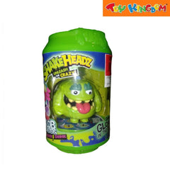 Shakeheadz Unleash the Crazy Slob Monster Power Drink-NeonGreen for Kids