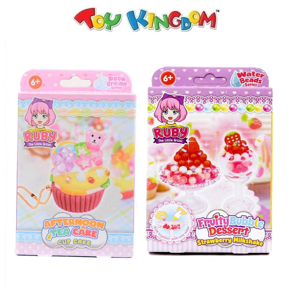 Ruby The Little Artist Beads Series Fruity Bubble and Afternoon Tea Cake