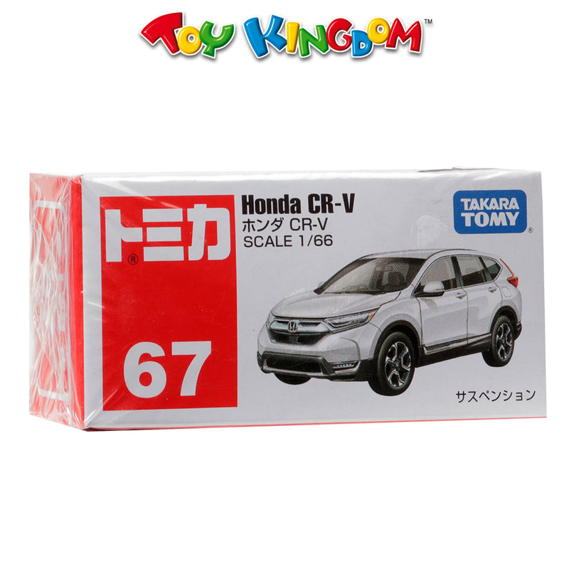 Takara Tomy No. 67 Honda CR-V Scale 1:66 Die-Cast Vehicle for Boys