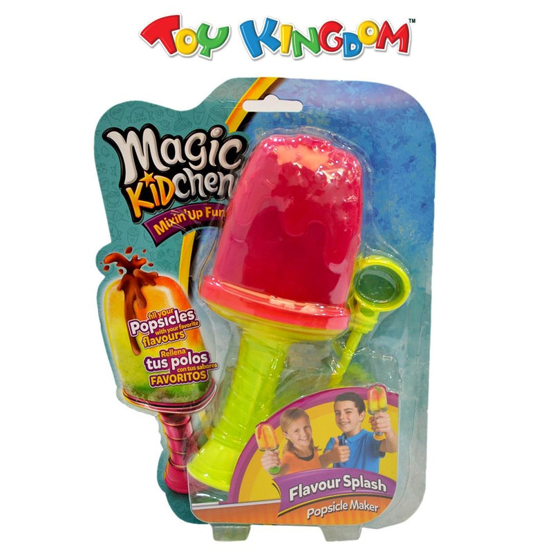 Magic Kidchen Flavour Splash Popsicle Maker Pink for Kids