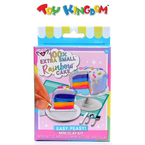 Fashion Angels 100% Extra Small Mini Clay Kit: Rainbow Cake for Kids