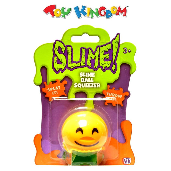 SLIME! Slime Ball Squeezer with Happy Face for Kids