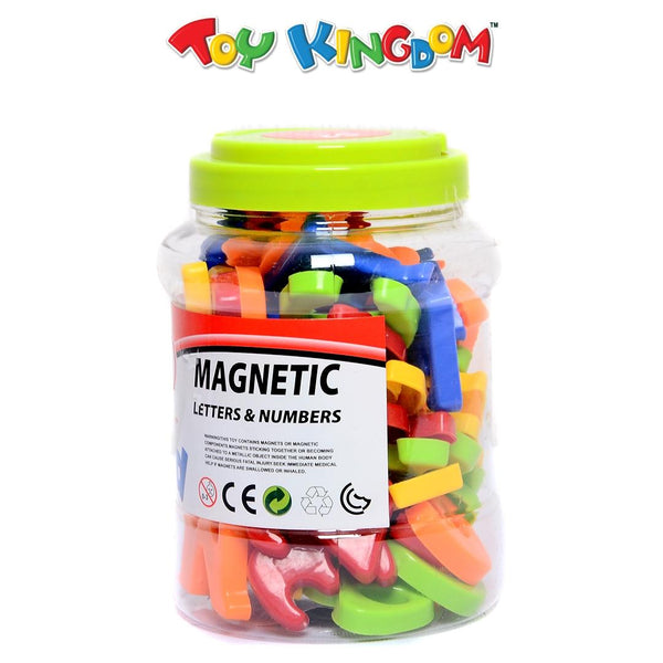 First Classroom 52 pcs Magnetic Letters and Numbers for Kids