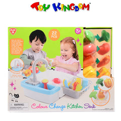 PlayGo Colour Change Kitchen Sink for Kids