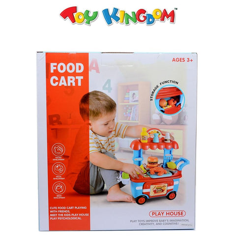 Play House Toy Series: Food Cart for Kids