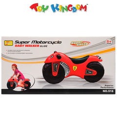 Super Motorcycle Baby Walker Glide for Kids